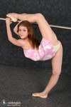 flexible girl striptease