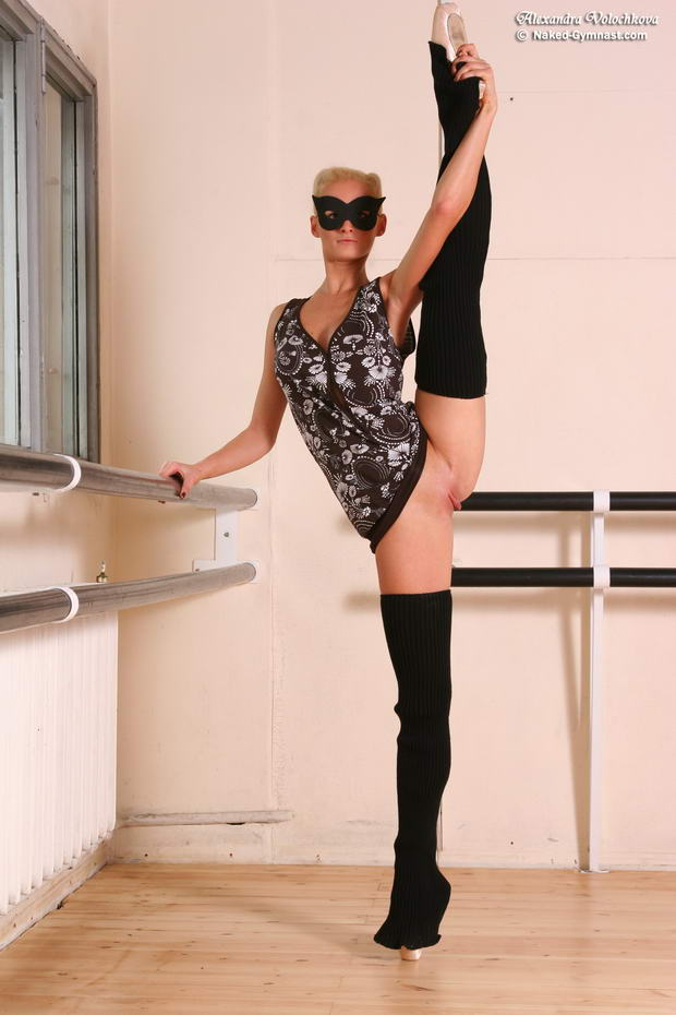 flexible ballerina leotard